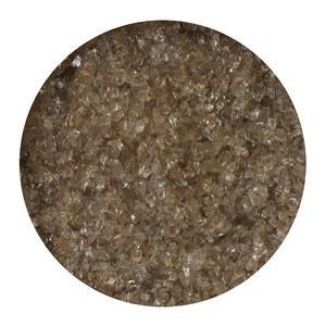 Bronze Transparent Medium Frit, 8.5 Oz - 96 Coe