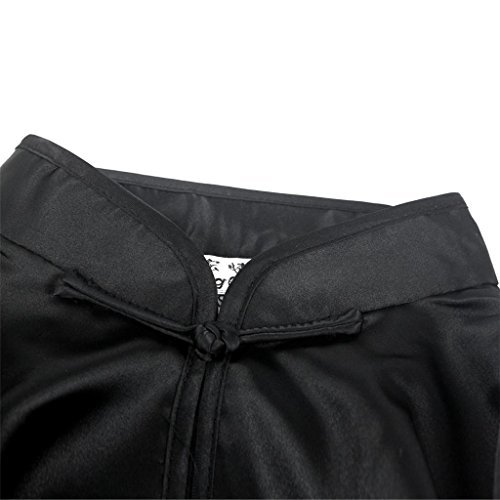 Uniformes Tai Vêtements Noir Traditionnels Andux Unisexe Kung tjf01 Fu Ss Chinois Chi n4ATxqgp
