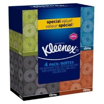 Kleenex Facial Tissue Upright 16 Boxes Kleenex-f8
