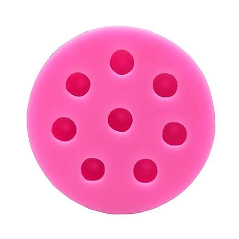 VEVICE 1 Molde de Silicona para Fondant de arándanos Azules y frambuesas, moldes Decorativos para