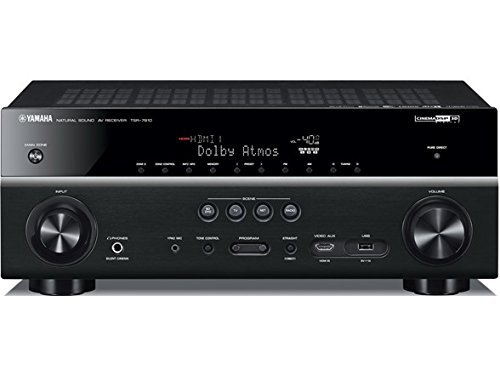 Yamaha TSR-7810 7.2 ch 4K Atmos DTS Receiver (Certified Refurbished) by Yamaha