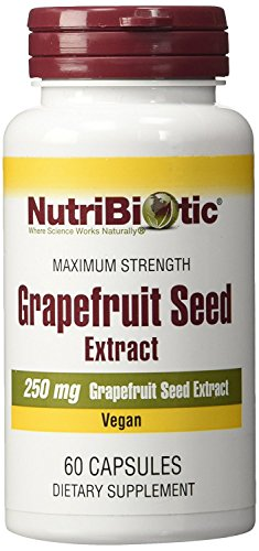 Title: Nutribiotic -Maximum Strength Grapefruit Seed Extract Capsule Caps – 250 Milligrams – 2 Pack(120 Count) Review