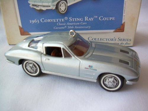 Hallmark Keepsake 1963 Corvette Sting Ray Coupe 2003 Christmas (Corvette Stingray Ornament)