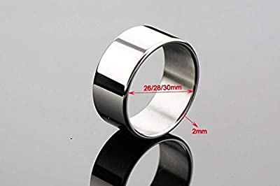 High Quality Stainless Steel P-Enis Ring C-ockrings Sex Ring Metal C-ock Ring 26/28/30mm Size 28MM