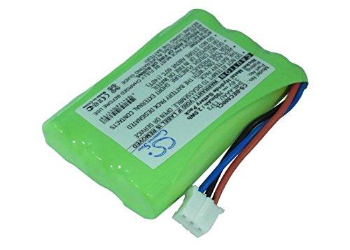 Battery2go - 1 year warranty - 3.6V Battery For Bang&Olufsen BeoCom 6000, 70AAAH3BMXZ, T373, 3HR-AAAU
