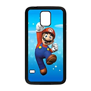 Super Mario Bro theme pattern design For Samsung Galaxy S5 Phone Case