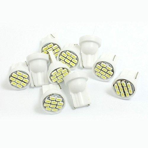 10-Pcs-Car-Auto-T10-White-1206-10-SMD-LED-Tail-Brake-Light-Bulb-Lamp