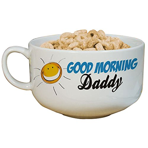 (GiftsForYouNow Personalized Cereal Bowl, Holds 32 oz, Ceramic)