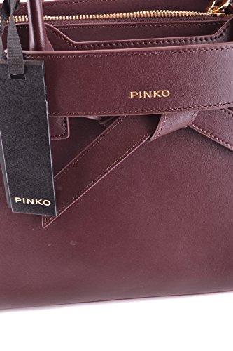 PINKO FEMME BRESSUIRE1R35 BORDEAUX CUIR SAC À MAIN