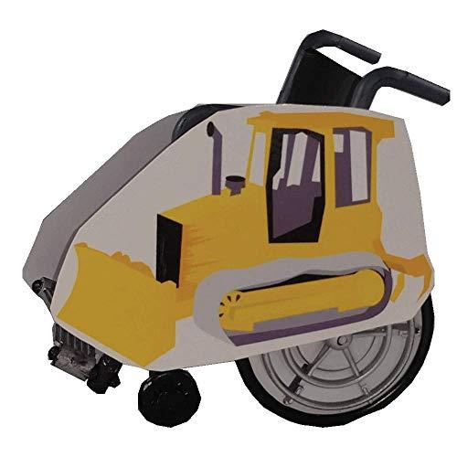 Bulldozer Wheelchair Costume Child's