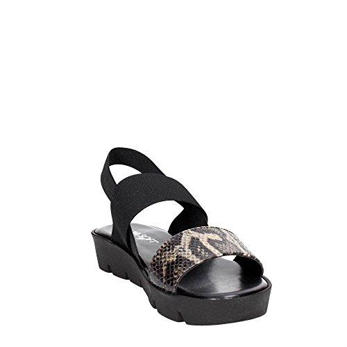 Ibc13 Cinzia Noir 002 Sandales Soft Femme 6qqUpw5