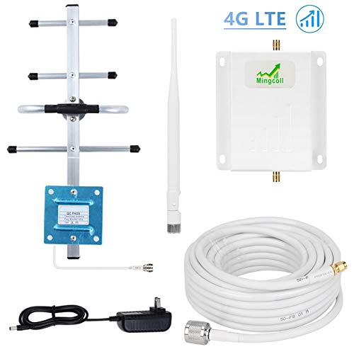 - Verizon Cell Phone Signal Booster Mingcoll 4G LTE Cell Signal Booster Repeater 700MHz Band 13 Cell Phone Signal Amplifier Mobile Phone Signal Booster Kit for Home/Office
