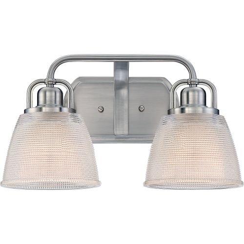 Quoizel DBN8602BN Two Bath Light, Medium, Palladian Bronze ()