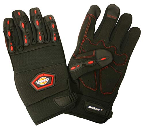Dickies D77214 Padded Hi-Performance Impact Pro Gloves, Extra Large