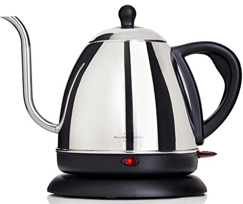Electric Gooseneck Kettle for Pour Over Coffee and Tea - 1L Electric Drip Kettle Teapot