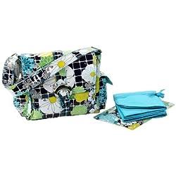 Kalencom Midi Coated Diaper Buckle Bag, Woodstock