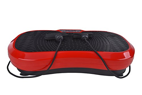 Fitness Vibration Platform Workout Machine Exercise Equipment For Home Vibration Plate Balance Your Weight Workout Equipment Includes, Remote Control & Balance Straps