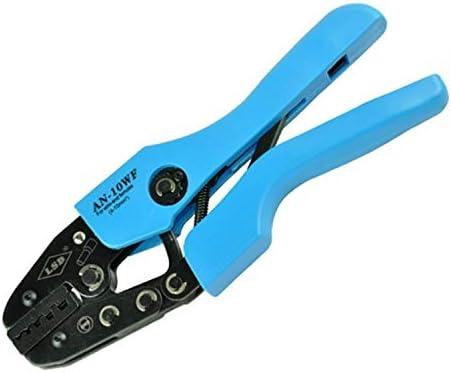 ケーブルカッター 非絶縁端子 圧着工具 1-10mm² ケーブルラグ 圧着プライヤー 手動ケーブルカッター