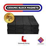 Heavy Duty Strong Bar Magnets - Ferrite Blocks