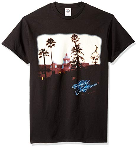 FEA Men's Eagles Hotel California,Black,Small