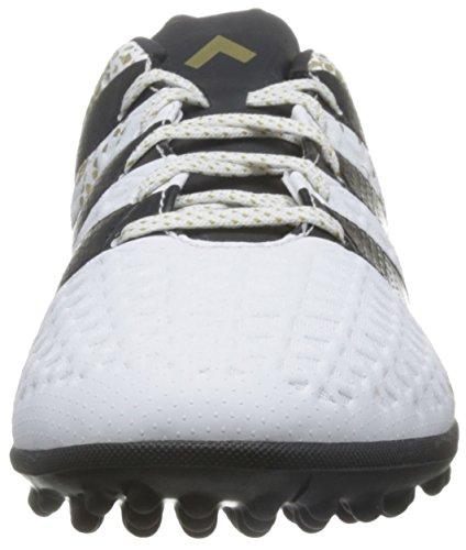 adidas Ace 16.3 Tf, Botas de Fútbol para Hombre Blanco (Ftwbla / Negbas / Dormet)