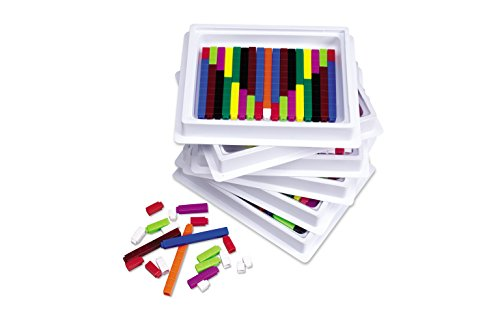 Connecting Cuisenaire Rods - Learning Resources Connecting Cuisenaire Rods Multi-Pack