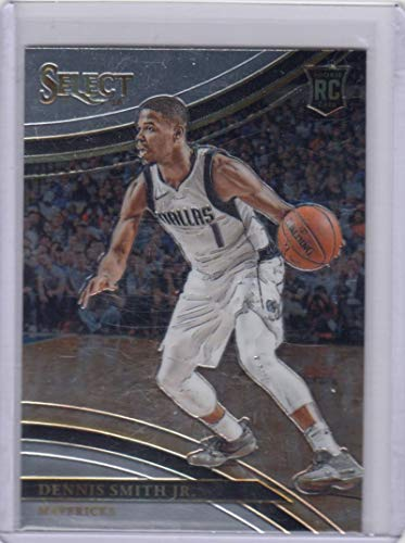 (2017-18 Panini Select Court Side #209 Dennis Smith Jr #209 NM Near Mint RC Rookie)