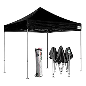 eurmax basic 10x10 ez pop up canopy tent entry commercial levelroller bag - 10x10 Canopy Tent