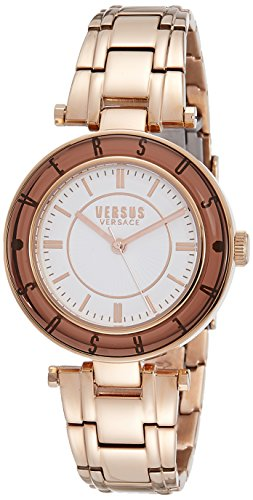 Versus by Versace Women's SP8210015 Logo Analog Display Quartz Gold Watch