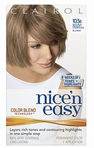 Nice & Easy Hair # 103b Size 1ct Clairol Nice & Easy Hair Color Treatment #103b by Clairol