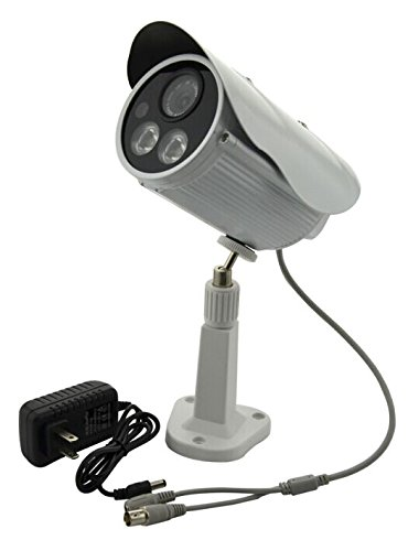 Aweek Outdoor/ Indoor Waterproof 1200 TVL 1/3' SONY CCD 6.0mm