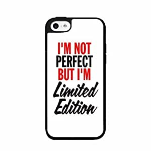 diy phone caseI'm Not Perfect But I'm Limited Edition - TPU RUBBER SILICONE Phone Case Back Cover ipod touch 5diy phone case