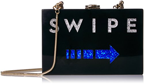 MILLY Swipe Box Clutch, Multi by MILLY