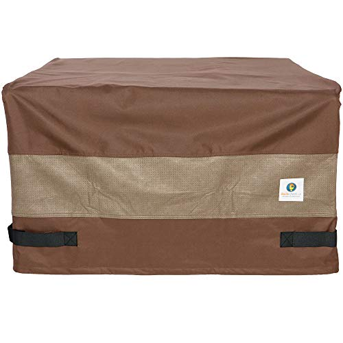 - Duck Covers Ultimate Square Fire Pit Cover, 40-Inch