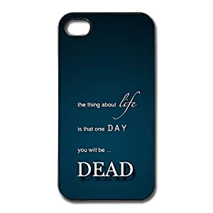 iphone 6 Cases Dead One Day Design Hard Back Cover Proctector Desgined By RRG2G by supermalls
