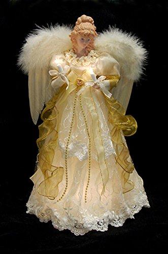 Porcelain Angel Tree Topper - 6