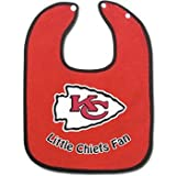 Kansas City Chiefs Official NFL Infant One Size Baby Bib