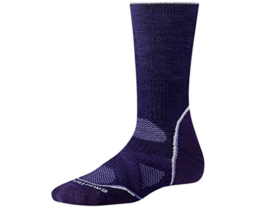 Smartwool Women's PhD Outdoor Medium Crew-Imperial Purple-L