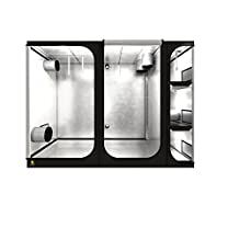 "Secret Jardin 9.2'x4'x6.9' (110.4""x48""x82.8"") Lodge L280 Grow Tent for Indoor Plant Growing"
