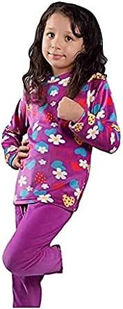 Winter plush pajamas for Girls