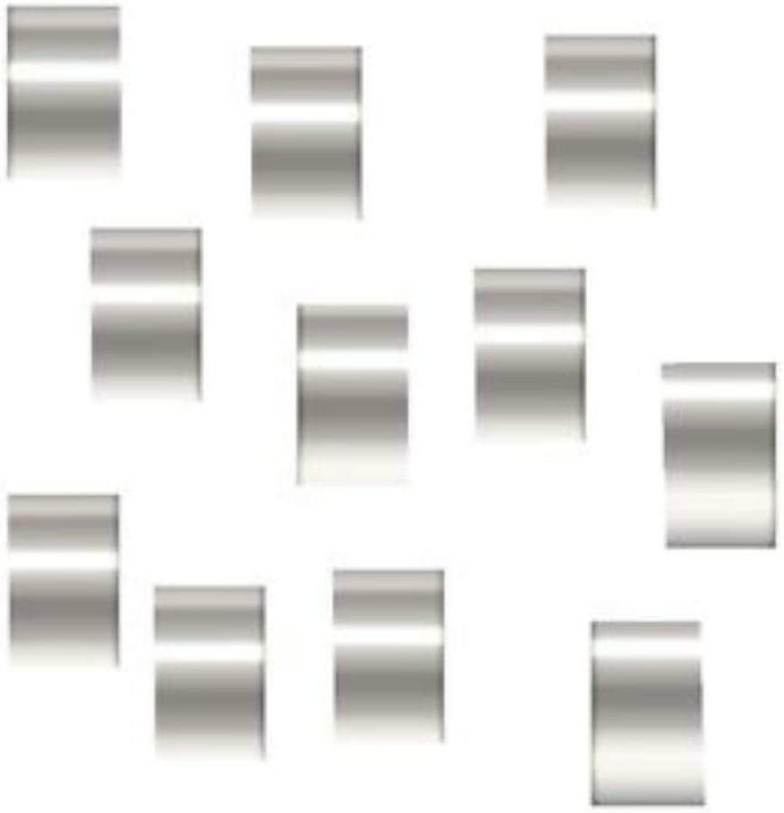 Amazon Com 100 Sterling Silver Crimp Beads Ultra Micro 1mmx1mm Arts Crafts Sewing