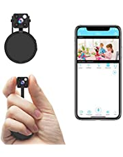 Mini Spy Camera WiFi, Relohas HD 1080P Spy Hidden Camera Wireless Hidden Live Streaming, Upgraded Night Vision/Motion Activated Spy Cam, Security Camera for Home and Outdoor (with Cell Phone APP)
