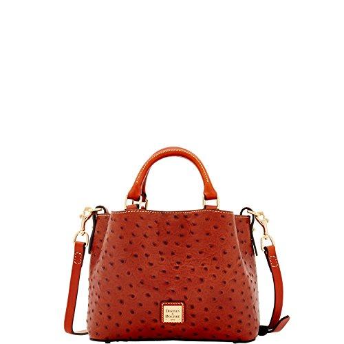 Dooney & Bourke Ostrich Mini Barlow Top Handle Bag -