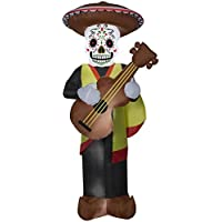 7ft Large Day of the Dead Man Airblown