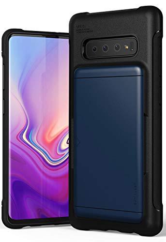 VRS Design Case for Samsung Galaxy S10 Plus S 10 Plus (6.4″ Inch) Damda Glide Shield Deep Sea Blue Hard Finish