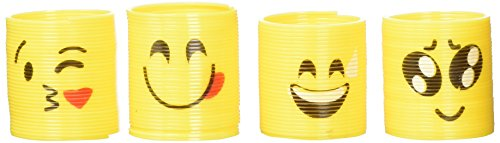 RIN (24 Assorted 35mm Emoji Coil Springs (Slinkies)