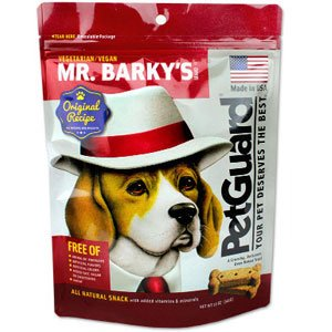 Mr Barkys Vegetarian Dog Biscuits, 12 Ounce -- 6 per case.