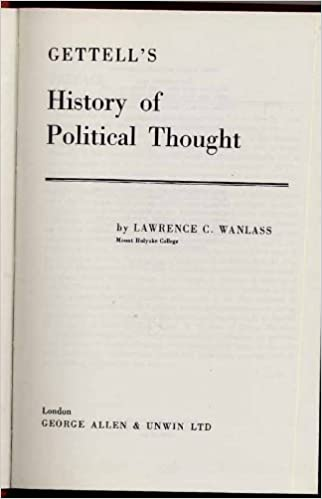 Télécharger des livres complets gratuits History of Political Thought by Raymond G. Gettell 0043200109 iBook