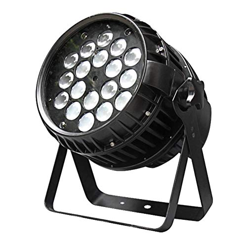 IMRELAX Waterproof Zoom 1812W RGBW 4in1 LED Par Light IP65 DMX Stage Par Can Light Par 64 Outdoor LED Par Stage Disco Light For Stage Lighting