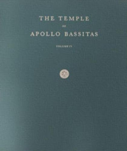 The Temple of Apollo Bassitas IV: Folio Drawings